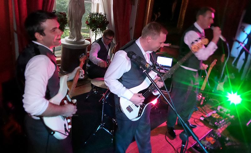 Manchester Wedding Band LeFunk Ring Ring Rouge Townley Hall