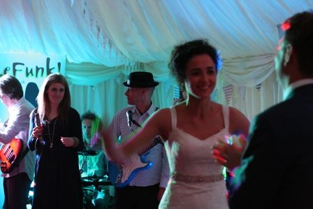bride first dance Manchester Wedding Band LeFunk