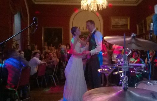 Lancashire Party Band Townley Hall Wedding